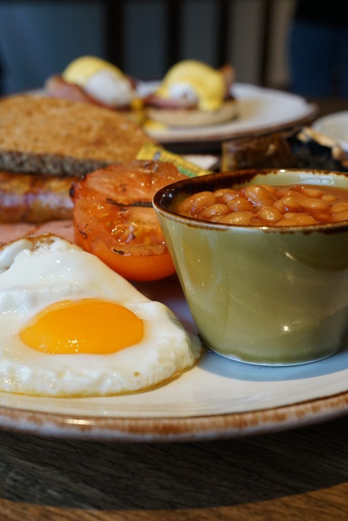 Delicious full English with free range eggs